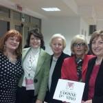 Gabriella Sarracco e la Delegazione del Lazio delle Donne del Vino