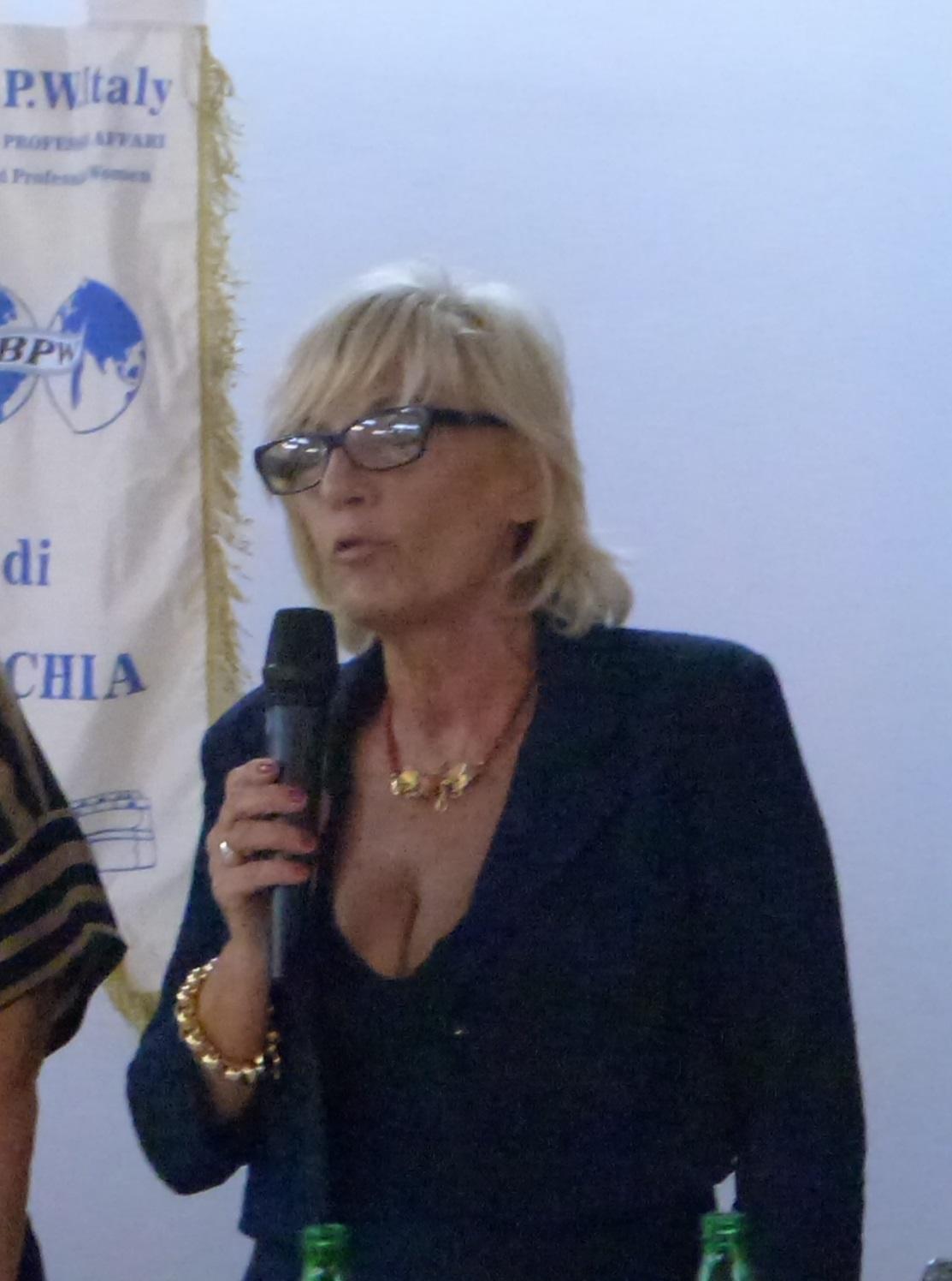 La nuova Presidente Gabriella Sarracco