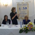 Il saluto di Pia Petrucci, Presidente nazionale della Fidapa BPW Italy
