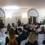 Panoramica della sala durante il saluto della Presidente Nazionale Pia Petrucci