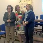 La Presidente Palmina Falla con le proff.sse Adele Zirulia e Vera Improta