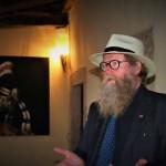 il pittore norvegese Hakon Gullvag