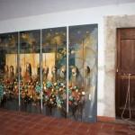 Alcune opere della mostra