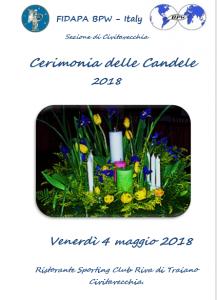 Cerimonia delle candele